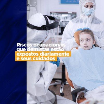 Riscos ocupacionais em um consultório odontológico